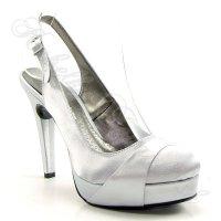 Dámska spoločenská obuv na platforme obrázok č. 1