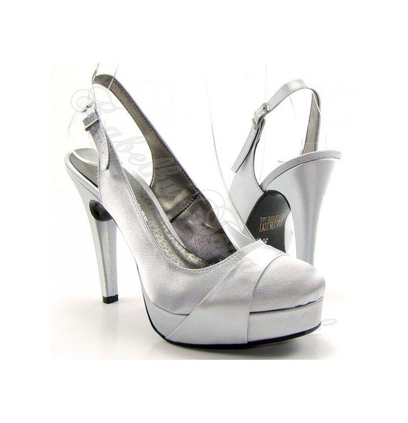 Dámska spoločenská obuv na platforme