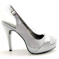 Dámska spoločenská obuv na platforme obrázok č. 2