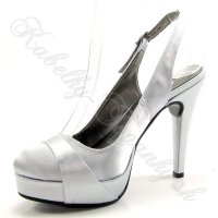 Dámska spoločenská obuv na platforme obrázok č. 3