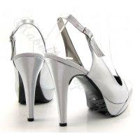 Dámska spoločenská obuv na platforme obrázok č. 5