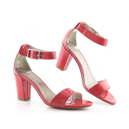 23dbcf38c0cd5 Červené sandálky TAMARIS 1-28018-22