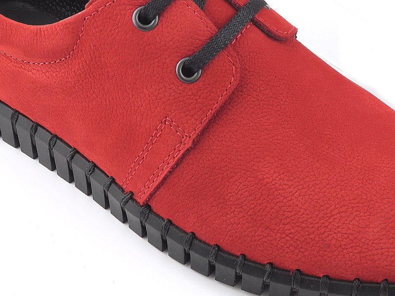 79d08a4c9 Červené topánky LANQIER 44A763 • Kabelky-topanky.sk