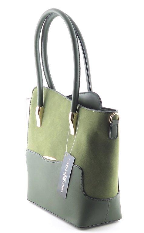 fd532bfc8938b Dámska elegantná zelená kabelka • Kabelky-topanky.sk