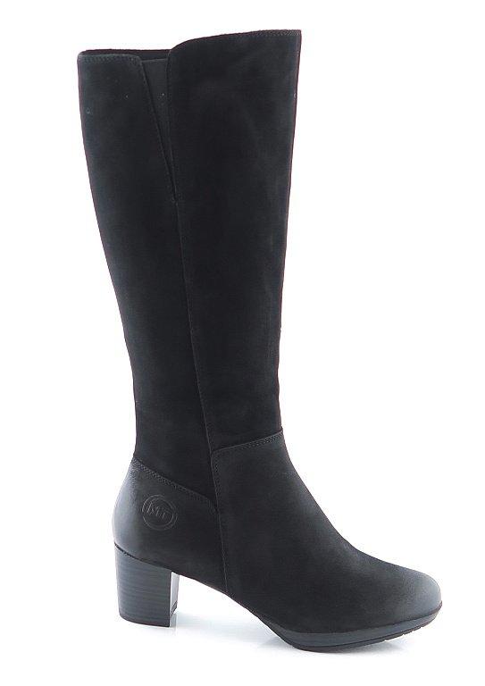5e155df972285 Dámske kvalitné čierne čižmy MARCO TOZZI • Kabelky-topanky.sk