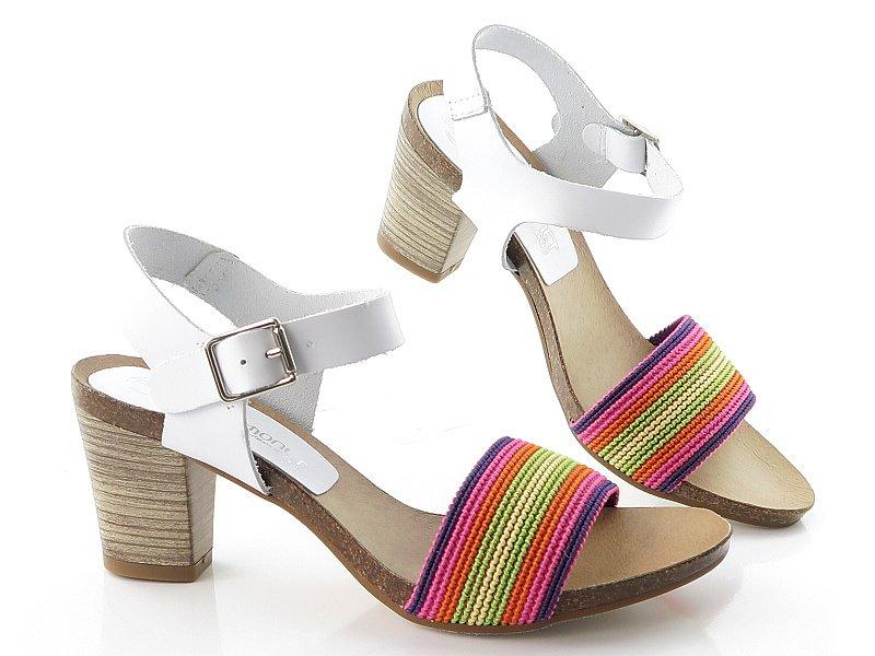 f9f34ac72 Dámske letné farebné sandálky PILAR MONET • Kabelky-topanky.sk