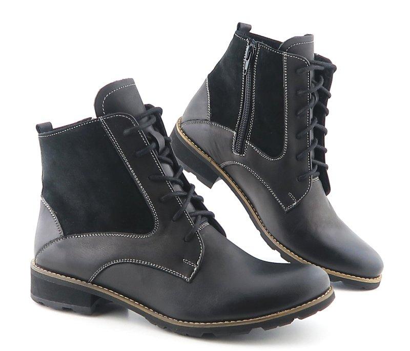 cd9d77b060519 Komfortné čierne topánky KAMPA • Kabelky-topanky.sk
