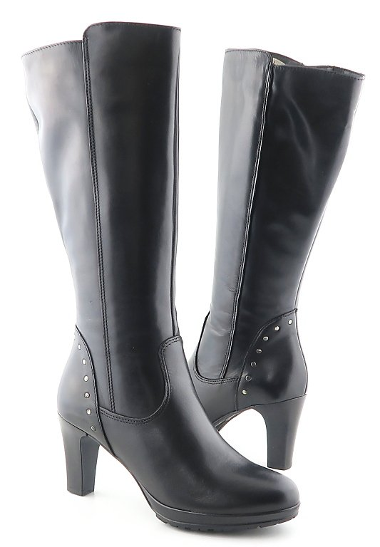 2da3ee8d95b01 Kvalitné kožené čierne čižmy TAMARIS • Kabelky-topanky.sk