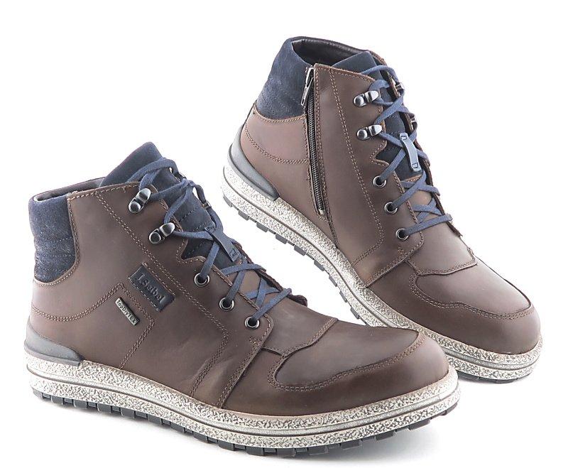 a846c4dd3 Kvalitné kožené pánske hnedé topánky JOSEF SEIBEL • Kabelky-topanky.sk