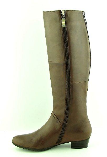 c2589d4f241f7 Luxusné kožené hnedé čižmy GERRY WEBER • Kabelky-topanky.sk