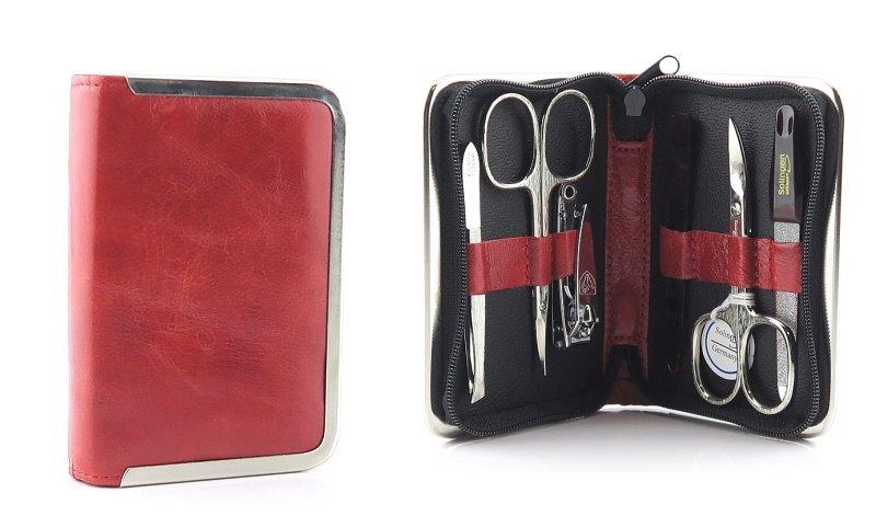 ef8eb973901cb Moderná červená manikúra SOLINGER • Kabelky-topanky.sk