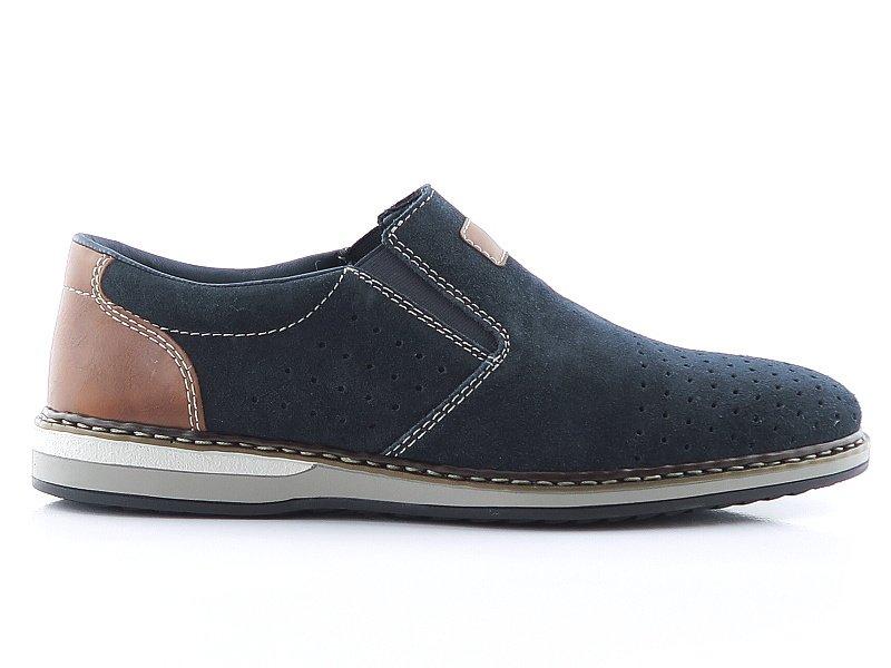 9de5ccf49 Modré topánky RIEKER 16861-14 • Kabelky-topanky.sk