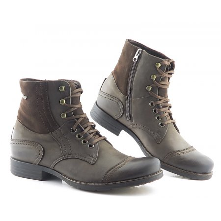 dc24cc363 Pánske kožené hnedé topánky NIK