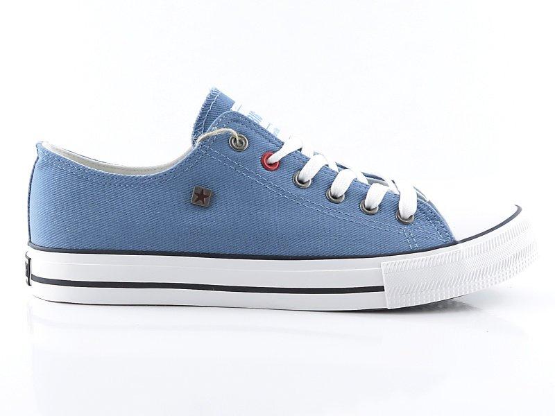 7411a60e9a919 Pánske svetlo-modré tramky BIG STAR • Kabelky-topanky.sk