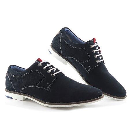 d1149a4c568ee Pánske trendové modré topánky na šnurovanie S.OLIVER