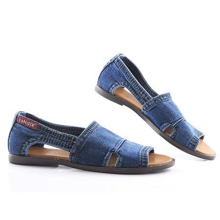 46088057b Rifľové dámske sandálky LANQIER