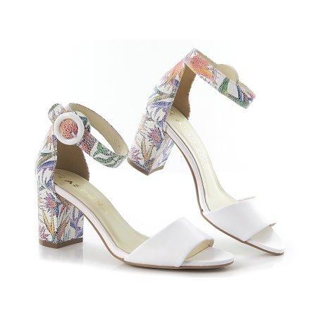 56bf6a58140b1 Sandále biele ASPENA KOR1674