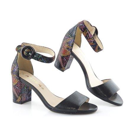 e3d1b3739146a Sandále čierne ASPENA KOR1674