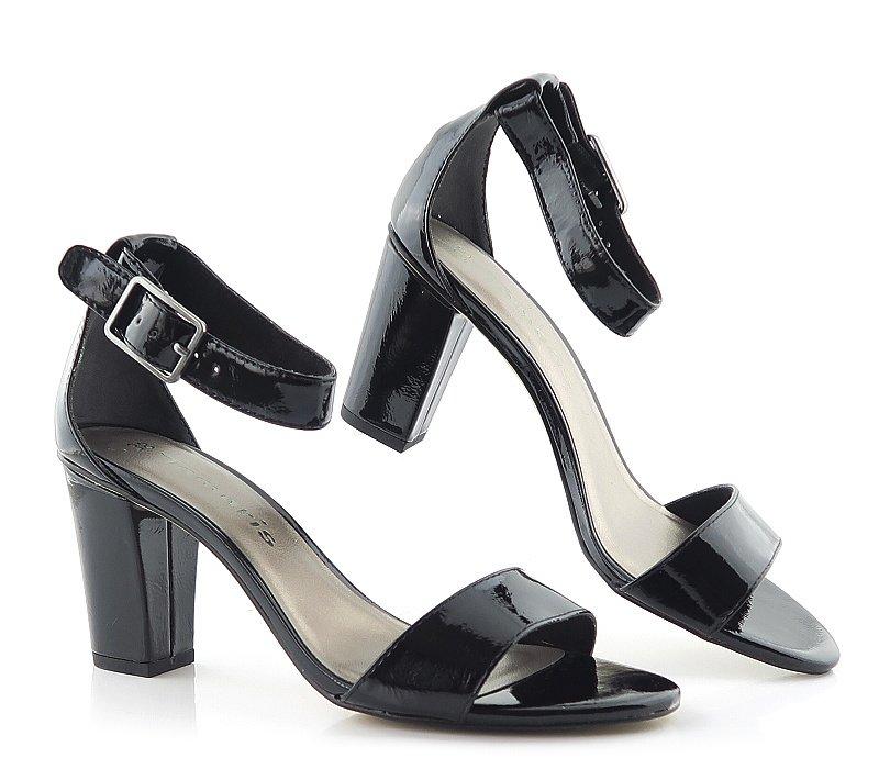 f1488d6e416eb Sandále čierne TAMARIS 1-28018-22 • Kabelky-topanky.sk