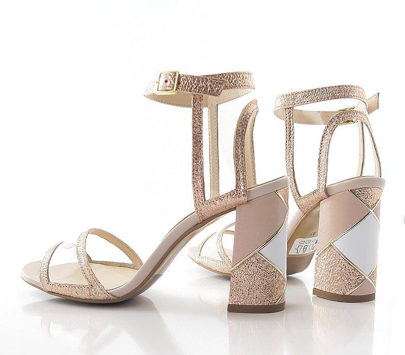 a0d55a7514414 Sandále púdrové ASPENA KOR PAULA 22 • Kabelky-topanky.sk
