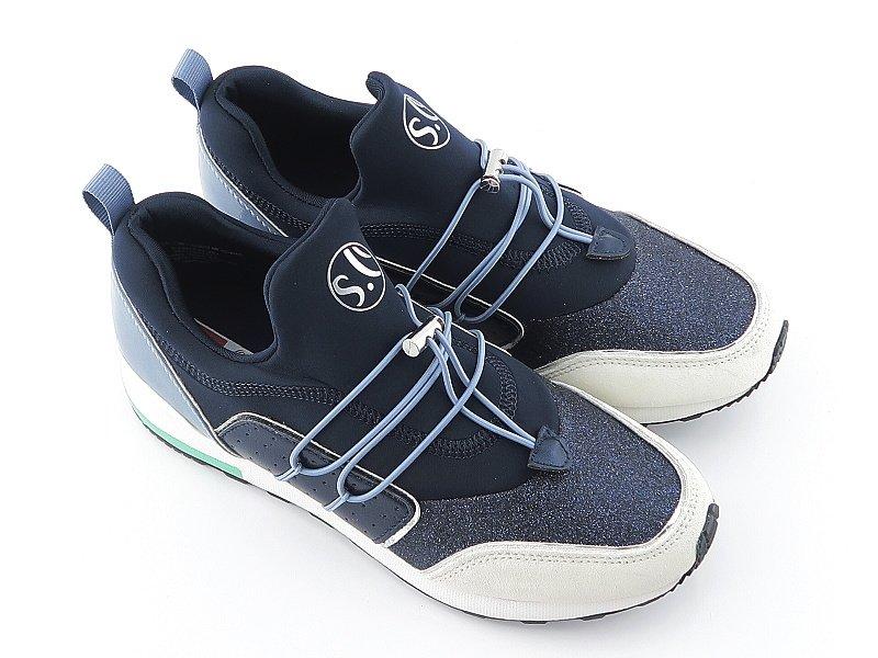 f44251e36d82a Športové dámske mdré topánky S.OLIVER 5-23613-22 • Kabelky-topanky.sk