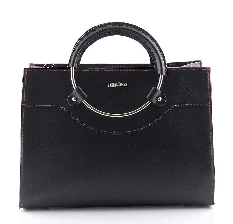 43aaee18c Štýlová dámska čierna kabelka • Kabelky-topanky.sk
