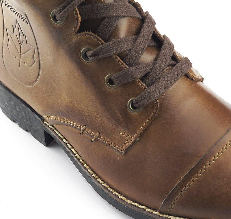 cbd58216dcbef Štýlové pánske hnedé topánky na šnurovanie RIEKER • Kabelky-topanky.sk