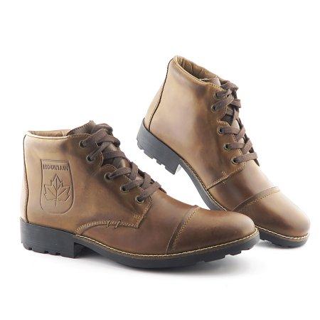 475754823 Štýlové pánske hnedé topánky na šnurovanie RIEKER