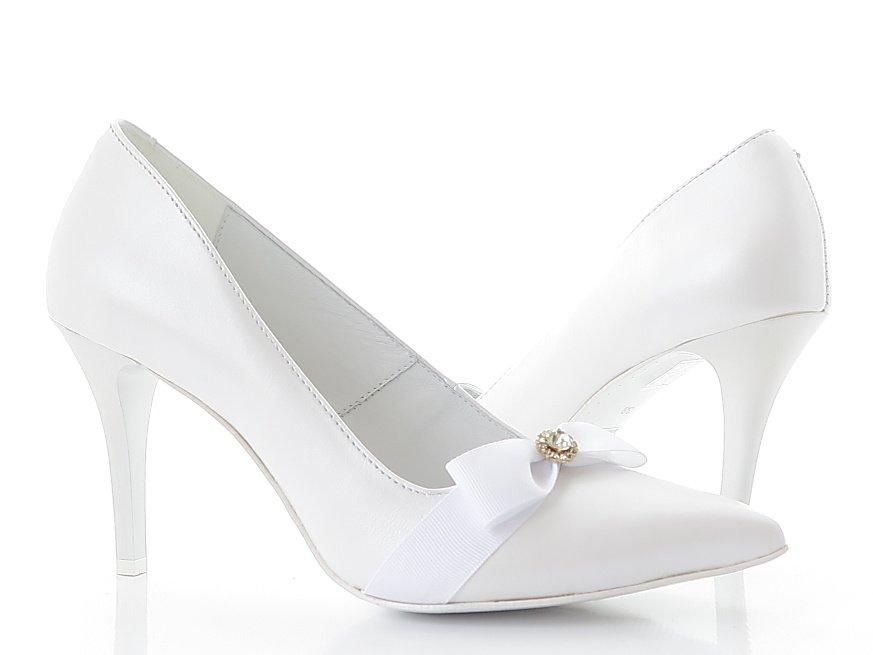 5df228776c38e Svadobné biele lodičky CLAUDIO DESSI 6238 • Kabelky-topanky.sk