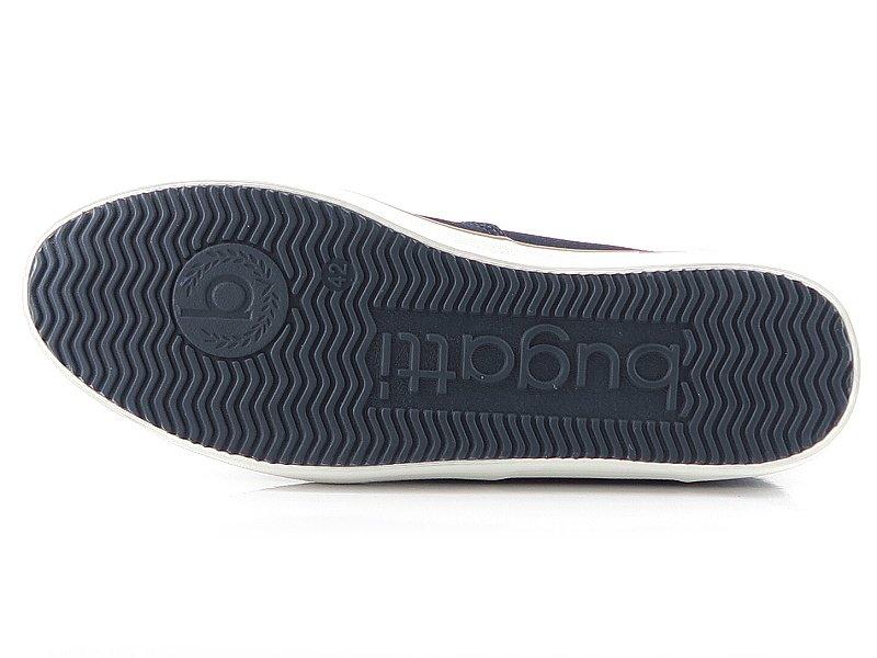 baeefe3d1dcf9 Tenisky tmavo-modré BUGATTI 50204-6900 • Kabelky-topanky.sk