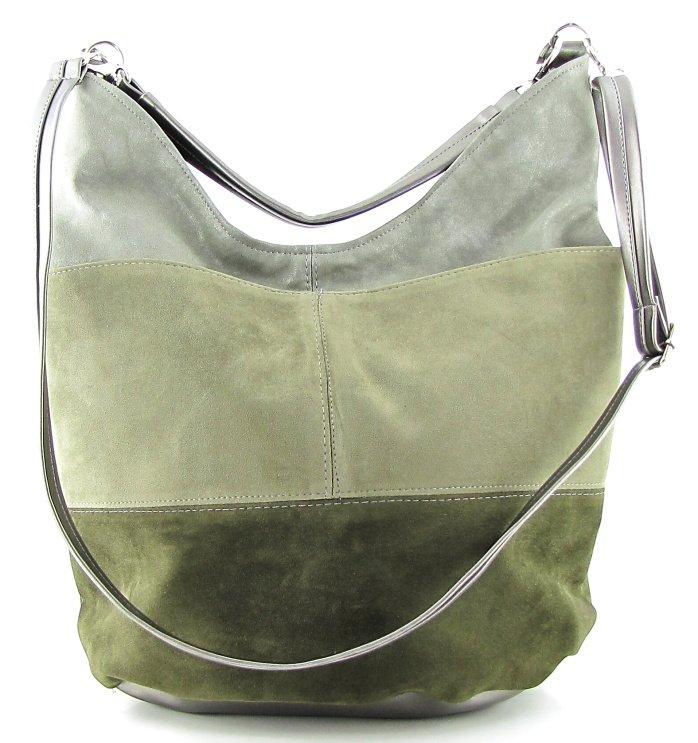 3245dca5631dc Trendová zelená kabelka • Kabelky-topanky.sk