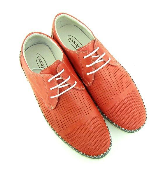 c2db40c2a Trendové kožené vzdušné červené topánky na šnurovanie • Kabelky ...