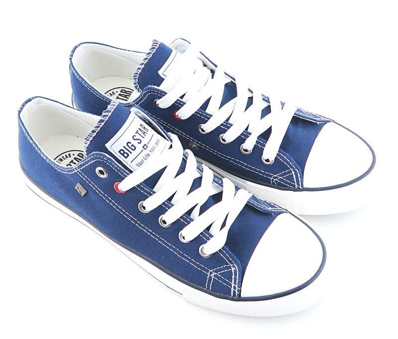 74cc9fd78d547 Trendové pánske modré tenisky BIG STAR • Kabelky-topanky.sk