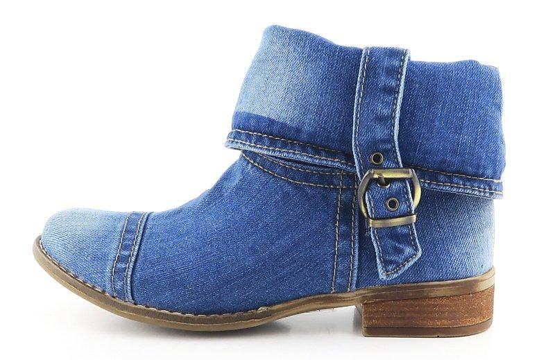 2b01288e2b70d Trendové rifľové topánky LANQIER • Kabelky-topanky.sk