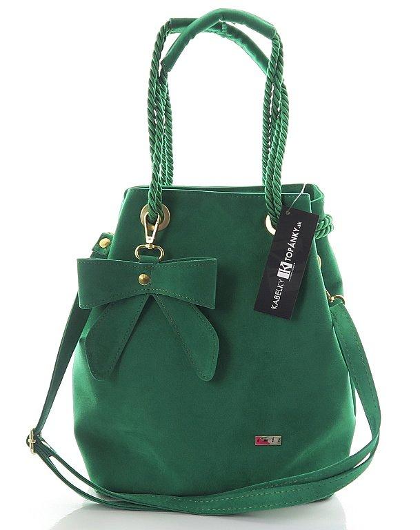 94ca15428db0d Zelená kabelka EMBI 206 • Kabelky-topanky.sk